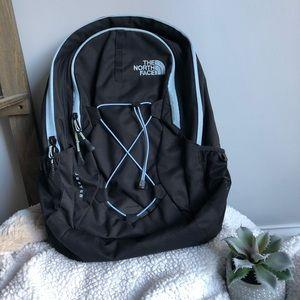 North Face Blue & Black Jet Setter Backpack